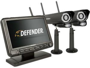 "Defender PHOENIXM2 Digital Wireless 7"" Monitor Security DVR & 2 Night Vision Cameras"