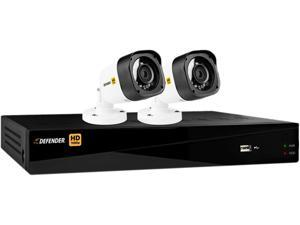 Defender HD1T4B2 4 Channel HD 1080P 4CH with 2 Bullet Cameras