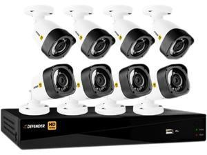 Defender HD2T26B8 16 Channel H.264 Level HD 1080P 16CH with 8 Bullet Cameras