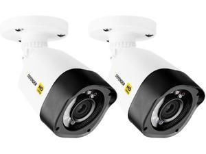 Defender HDCB2 1920 x 1080 MAX Resolution BNC HD 1080p Indoor / Outdoor 2 Pack Bullet Security Cameras