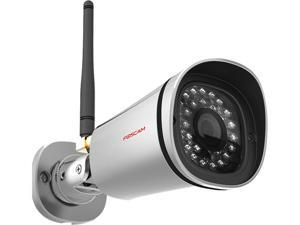 Foscam FI9800P Outdoor 720P HD Security IP Camera with IP66 Waterproof, Plug and Play, H.264 Video Compression, IR Range up to 66 ft, Motion Detection,Night Version,Cloud Storage
