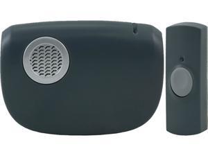 GE 19240 Portable Door Chime with Door Bell Button