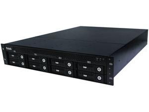 NUUO NT-8040RP 250Mbps Throughput NVR Standalone 4ch, 8bay, rackmount , Redundant Power Supply