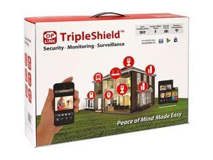 OPlink Security Triple Shield 4C (OPG2202) Wireless Security System (4 Camera Version)