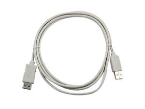 USB 2.0 Extension Cable - 6 ft