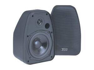 "BIC America Adatto DV52si 5.25"" Indoor/Outdoor Speakers, Pair, Black"