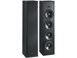 "BIC America Venturi DV64 6.5"" Tower Speaker, Single, Black"