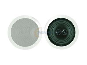 "BIC AMERICA MSR8D 8"" Dual Voice Coil In-Ceiling Speaker, Single"