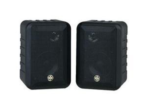 BIC America RtR V44-2 3-way In/Outdoor speakers (Black) Pair