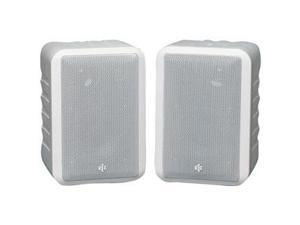 BIC America RTR V44-2W 3-way In/Outdoor Speakers (White) Pair