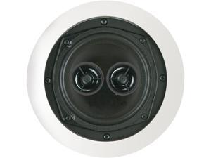 "BIC AMERICA MSR5D 5.25"" Dual Voice Coil Stereo Ceiling Speaker, Single"
