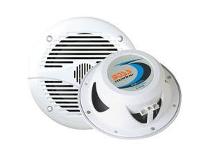 "Boss Audio 6.5"" 200 Watts 2-Way Marine Speakers, White"
