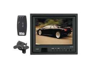 "BOSS AUDIO 7"" Headrest TFT Monitor w/ 2-CH IR Audio Transmitter"