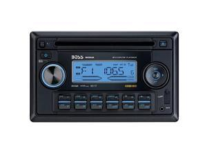 BOSS AUDIO In-Dash Double-DIN CD Receiver w/ USB & SD Port Model 822UA