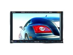 "BOSS AUDIO In-Dash Double-DIN DVD Receiver w/ 7"" Touchscreen Model BV9555"