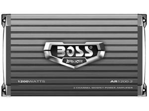 BOSS AUDIO 1200W 2 Channels Bridgeable Amplifier