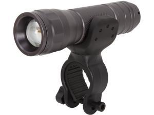 Rosewill RLFL-13003 - Cree XPE-R2 LED Search Flashlight Set with Bicycle Bracket - Zoom, 300 Lumens