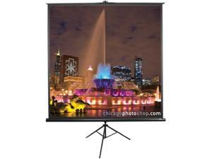 "Elite SCREENS T136NWS1 136"" Portable Tripod Pull-Up Screen"