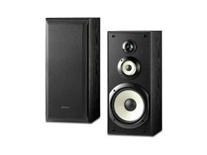 SONY SSB3000 Performance Bookshelf Speakers - Black Pair