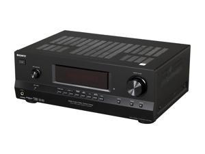 SONY STR-DH520 7.1-Channel, 3D pass-through 6 HD inputs 4 HDMI HD Cinema Sound A/V Receiver