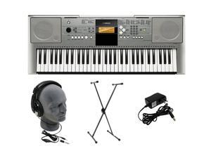YAMAHA YPT-330 61-key Portable Keyboard Premium Pack