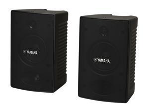 YAMAHA NS-AW194BL 2-way Bass-Reflex Outdoor Speaker (Black) Pair