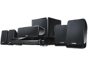 YAMAHA BDX610BL 500 Watt 5.1 Channel Blu-ray Home Theater System