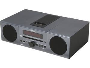 YAMAHA Desktop Audio Bluetooth System, Dark Gray MCR-B142DG