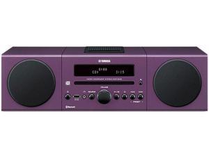 YAMAHA Desktop Audio Bluetooth System, Purple MCR-B142PU