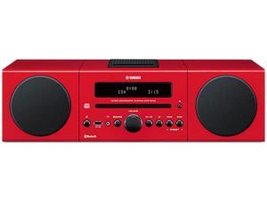 YAMAHA Desktop Audio Bluetooth System, Red MCR-B142RE