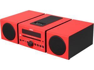 YAMAHA Desktop Audio System, Red MCR-042RE