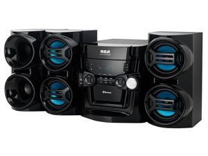 RCA 5-Disc Changer Mini Audio System RS3965SB