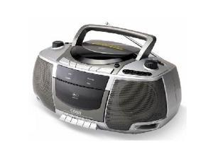 COBY CD/Cassette/Radio 1-Disc Changer Boombox CX-CD248