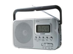 COBY CX39 World Band AM/FM/Shortwave Radio with Digital Display