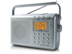 COBY CX789 Digital AM/FM/NOAA Radio with Dual Alarms