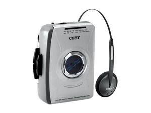 COBY  Personal AM/FM Stereo Cassette Player CX49
