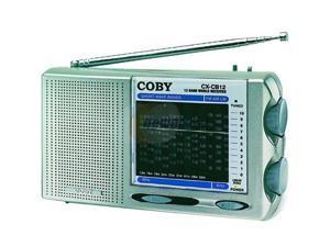 COBY World Band AM/FM/LW/SW Radio CXCB12