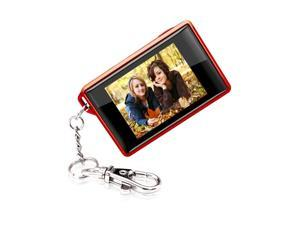 "COBY DP180RED 1.8"" 160 x 128 Keychain Digital Photo Frame"