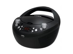 COBY Portable MP3/CD Stereo with AM/FM Radio and USB Port MPCD291