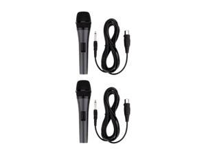 EMERSON M159 Dual Professional Microphones (Detachable Cord)