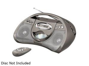 GPX Portable CD Player with AM/FM Radio, Line in for MP3 Devices and Remote Control BCD2306DP