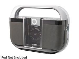 GPX Portable Boom Box with Dock for iPod BI100B