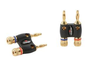 Monster Cable MBD R-HT MKII 2 Pair Dual Banana Adapters