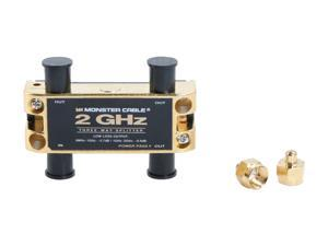 Monster - 2 GHz Low-Loss RF splitters for TV & Satellite MKII