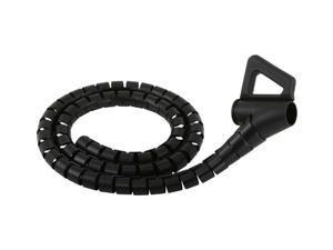 MONSTER CIT MBK-16 16 ft. Medium Black Cable•it Cable Management Kit