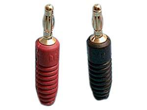 Monster Cable MT R-B Regular Tips Banana Extra Thick Speaker Cable Connectors