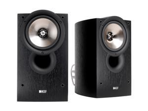 KEF Classic Q Series iQ10 Bookshelf Speakers (Black Ash) Pair