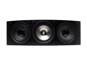 KEF Classic Q Series iQ60c Center Channel Speaker (Black Ash) Each