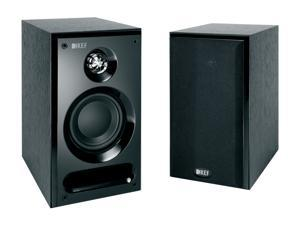 KEF C1 Bookshelf Speakers (Black Ash) Pair