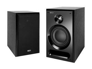 KEF C3 Bookshelf Speakers (Black Ash) Pair